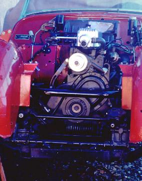 TeriAnn s Triumph TR3A rebuild